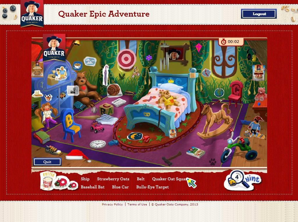 Quaker Oats Advergame 03