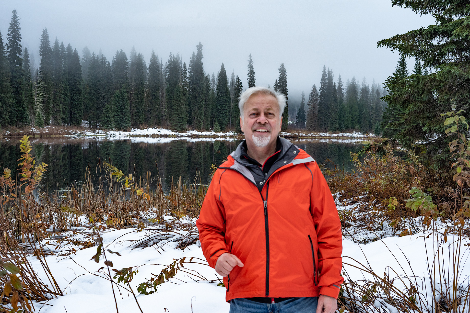 Dale Cody in Wells Gray